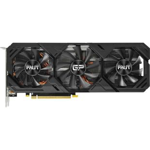 Palit GeForce RTX 2080SUPER 1650MHz PCI-E 3.0 8192MB 15500MHz 256bit DisplayPort HDMI HDCP GAMING PRO (NE6208S019P2-180T) RTL